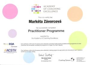 Certifikat koucovani EMCC ICF
